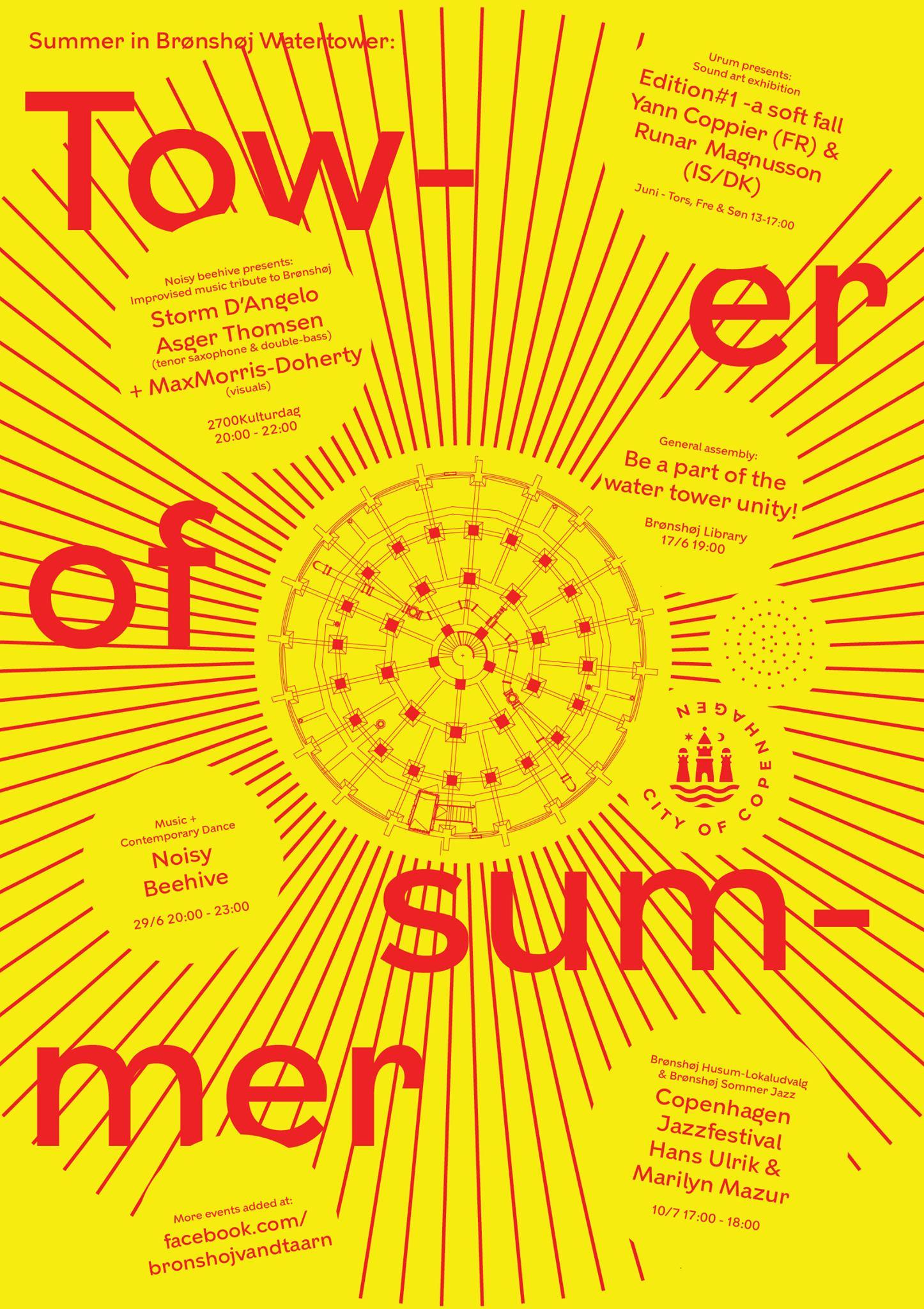 Membran Plakater: Brønshøj Vandtårn