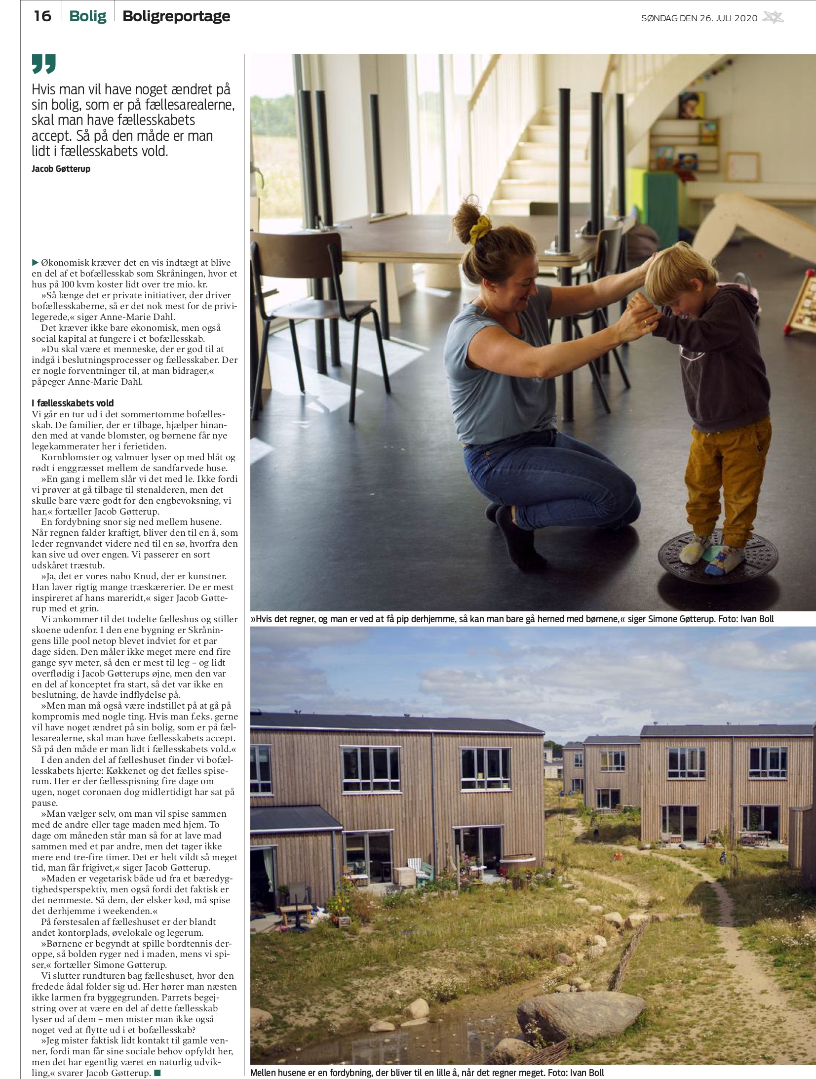 Membran Reportage: Nye grønne bofællesskaber